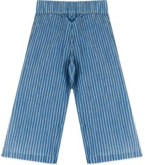 pantalón azul-blanco tommy hilfiger