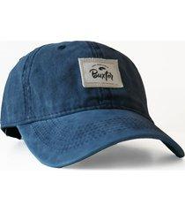 gorra  azul buxter cap talls