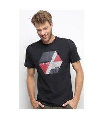 camiseta hd color block masculina