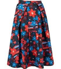 marni cotton wheel skirt