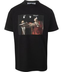 black man t-shirt with caravaggio painting