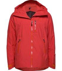 stranda ins hybrid jkt outerwear sport jackets rood bergans
