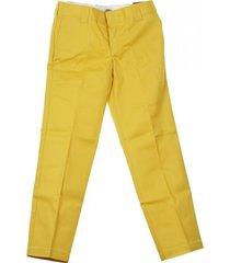 pantalone lungo slim straight work pant