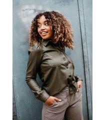 noisy may blouse groen 27012547