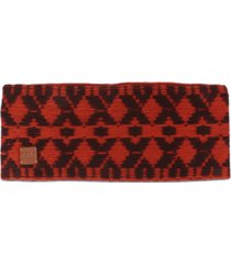 frye and co. weaving jacquard cold weather headband