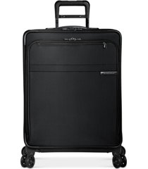 "briggs & riley baseline 25"" softside check-in spinner"