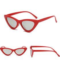 donna retro hd occhiali da sole a forma di occhio gatto anti-uv