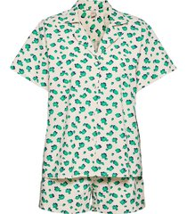 amapoly kallie nightwear pyjamas blå becksöndergaard