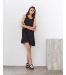 vestido negro desiderata holbox