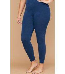 lane bryant women's leggings - denim e-f dark water