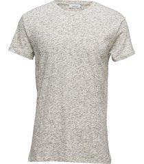 uhrskov o-n ss 6360 t-shirts short-sleeved grå samsøe samsøe