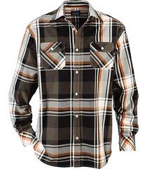 overhemd babista olijf::oranje