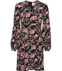 50's dress jurk knielengte multi/patroon by ti mo