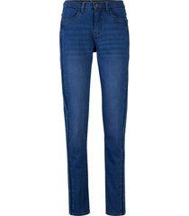 jeans elasticizzati slim fit in cotone biologico (blu) - john baner jeanswear
