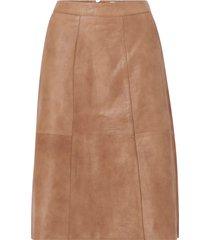 skinnkjol brittsz skirt below knee