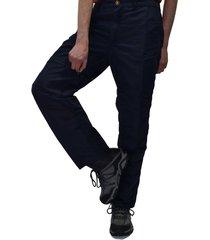 pantalón de senderismo azul oscuro santana aconcagua