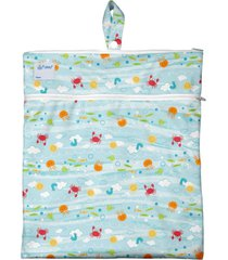 bolso impermeable sea friends celeste green sprouts