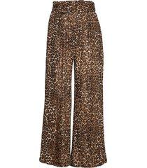 leonora pants pyjamasbyxor mjukisbyxor brun underprotection