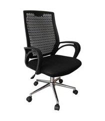 cadeira de escritório diretor burgos preto