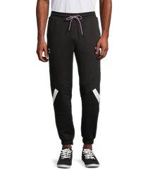 puma men's drawstring track pants - black - size xxl
