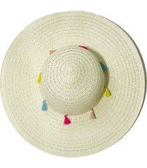 sombrero beige donadonna lady