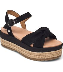 w trisha shoes summer shoes flat sandals svart ugg