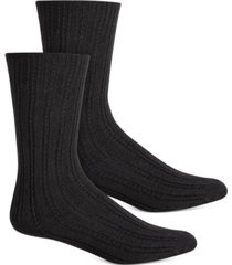 hue women's temp tech tuck stitch ribbed socks