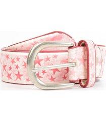 cinturon estrellas rosado mailea