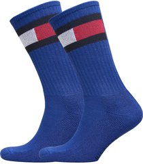 th flag 2p underwear socks regular socks blå tommy hilfiger