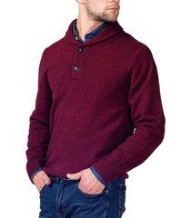 sweater casual burdeo arrow