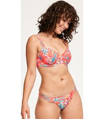 wild sun palm underwire sweetheart padded bikini top