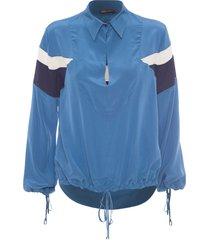 blusa feminina olimpo - azul