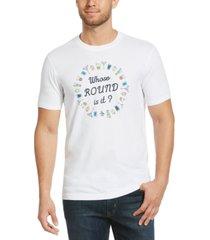 original penguin men's round graphic t-shirt