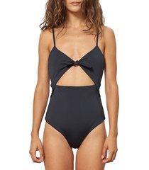 women's mara hoffman kia cutout one-piece swimsuit