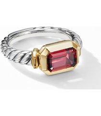 women's david yurman novella ring with 18k yellow gold