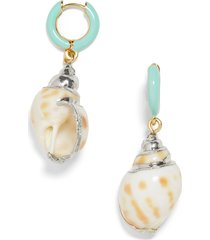 women's baublebar kailua shell drop earrings