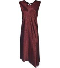 ann demeulemeester sleeveless mid-length dress