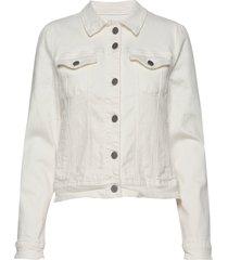 gigi jacket jeansjacka denimjacka vit minus