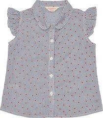blusa alicia en tejido plano