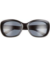 bp. round sunglasses in black at nordstrom