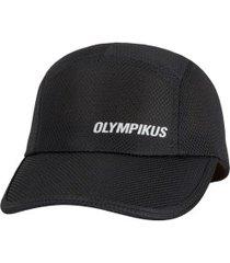 boné aba curva olympikus essential - strapback - adulto - preto