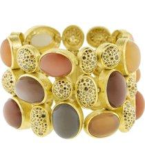 moonstone and autumn diamond bracelet