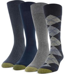 gold toe men's 4-pack argyle special socks