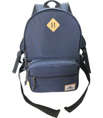 steve madden classic dome backpack with removable fanny-pack