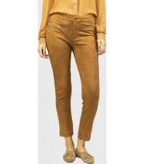 pantalon berry marron fashion's pacific