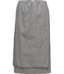 hanoi skirt knälång kjol grå hope
