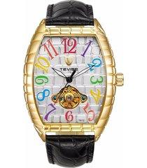 reloj de los hombres reloj de cocodrilo reloj-multicolor