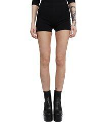 alaia black shorts