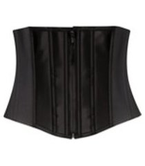 spanx corset estruturado - preto