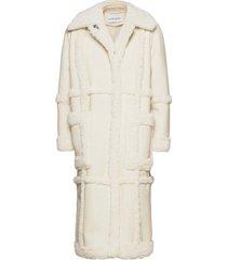 patrice coat outerwear faux fur wit stand studio